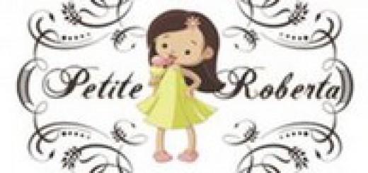 Petite Roberta kāzu ielūgumi