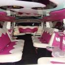 hummer limuzīna interjers