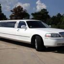 lincoln balts limuzīns